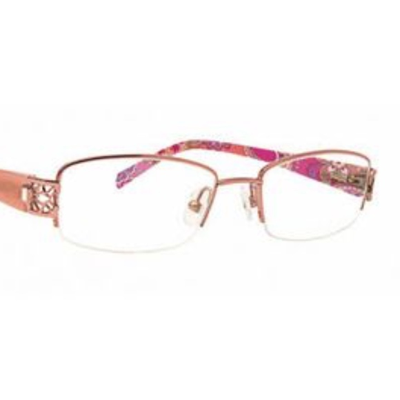 Vera Bradley Accessories | Final Sale Vera Pink Swirls 3030 Glasses ...